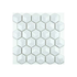 5mm Porcelain Mosaic 51x51mm - Gloss White Cube